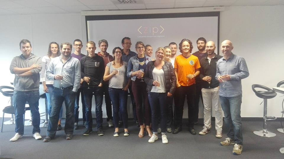 Équipe agence digitale ZIP Brest