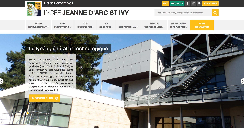 Le lycée Jeanne d'Arc Pontivy